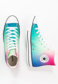 Converse - CHUCK TAYLOR ALL STAR - Sneakers hoog - white/game royal/cerise pink - 1