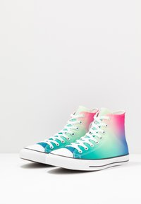 Converse - CHUCK TAYLOR ALL STAR - Sneakers hoog - white/game royal/cerise pink - 2