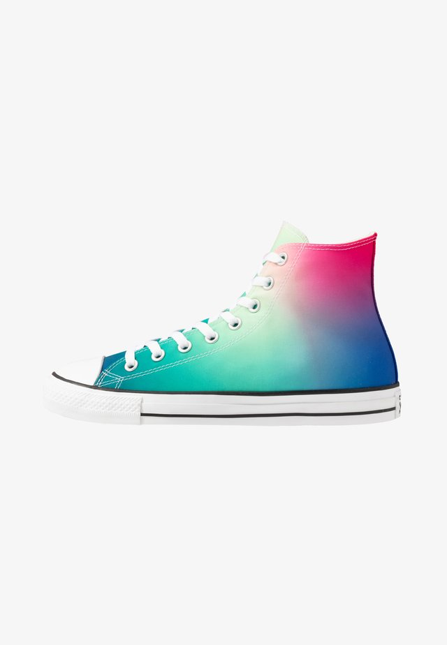 CHUCK TAYLOR ALL STAR - Sneakers high - white/game royal/cerise pink