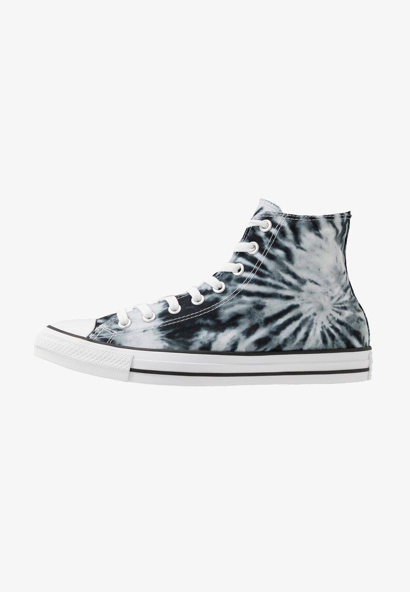 Converse - CHUCK TAYLOR ALL STAR - High-top trainers - black/lemongrass/white