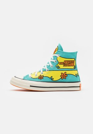 CHUCK TAYLOR ALL STAR 70 - Baskets montantes - turquoise/yellow