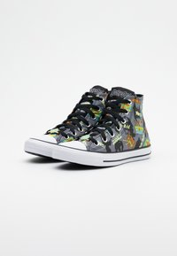 Converse - CHUCK TAYLOR ALL STAR - High-top trainers - black/multicolor - 1