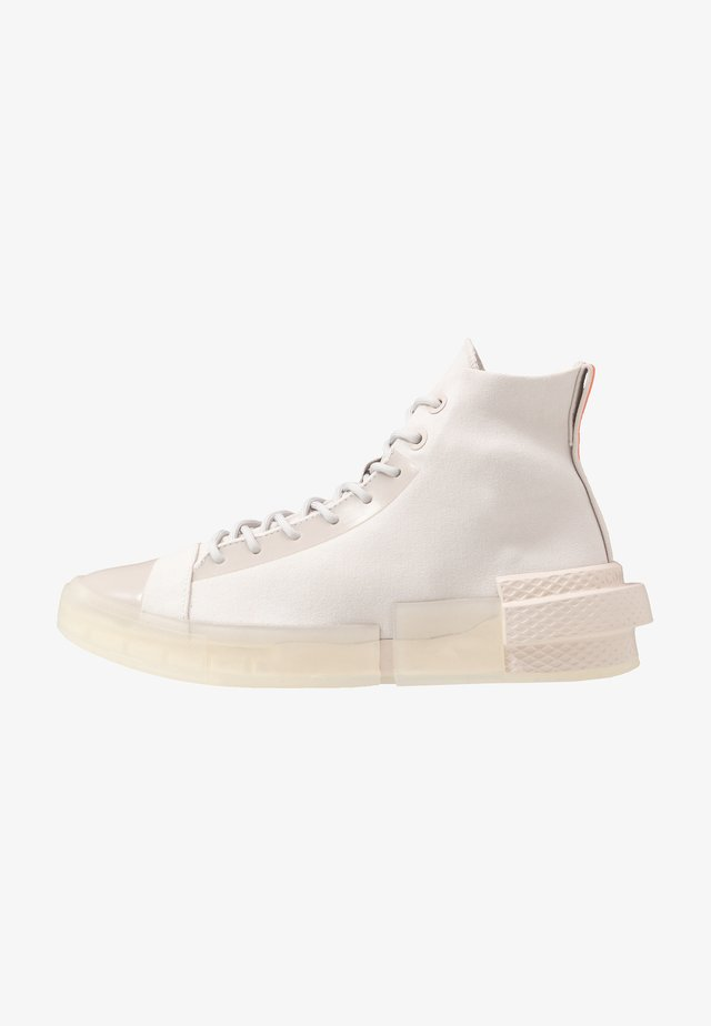 CHUCK TAYLOR ALL STAR DISRUPT - Sneakersy wysokie - pale putty/white/wild mango