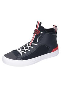 Converse - CHUCK - Sneakers alte - black/red/white - 0