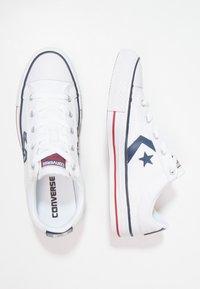 Converse - STAR PLAYER OX - Tenisky - white/navy - 1