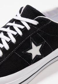 Converse - ONE STAR - Tenisky - black/white - 5