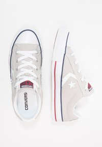 Converse - STAR PLAYER - Sneakersy niskie - cloud grey/white - 1