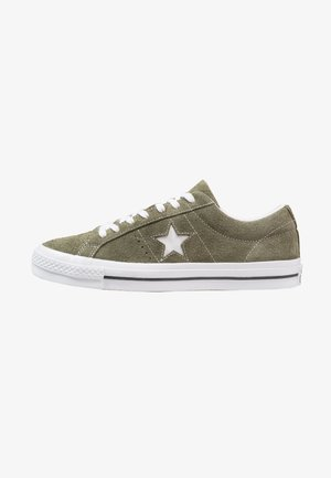 ONE STAR - Trainers - hunter green/white