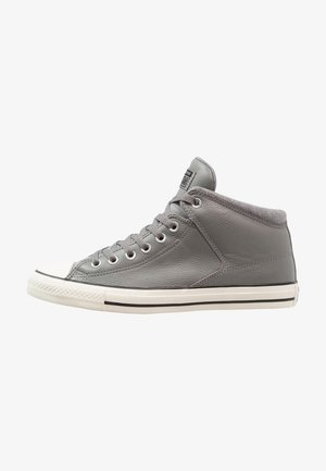 CHUCK TAYLOR ALL STAR STREET - Korkeavartiset tennarit - mason/black/egret