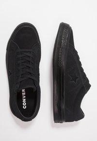 Converse - ONE STAR - Tenisky - black - 1