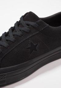 Converse - ONE STAR - Tenisky - black - 5