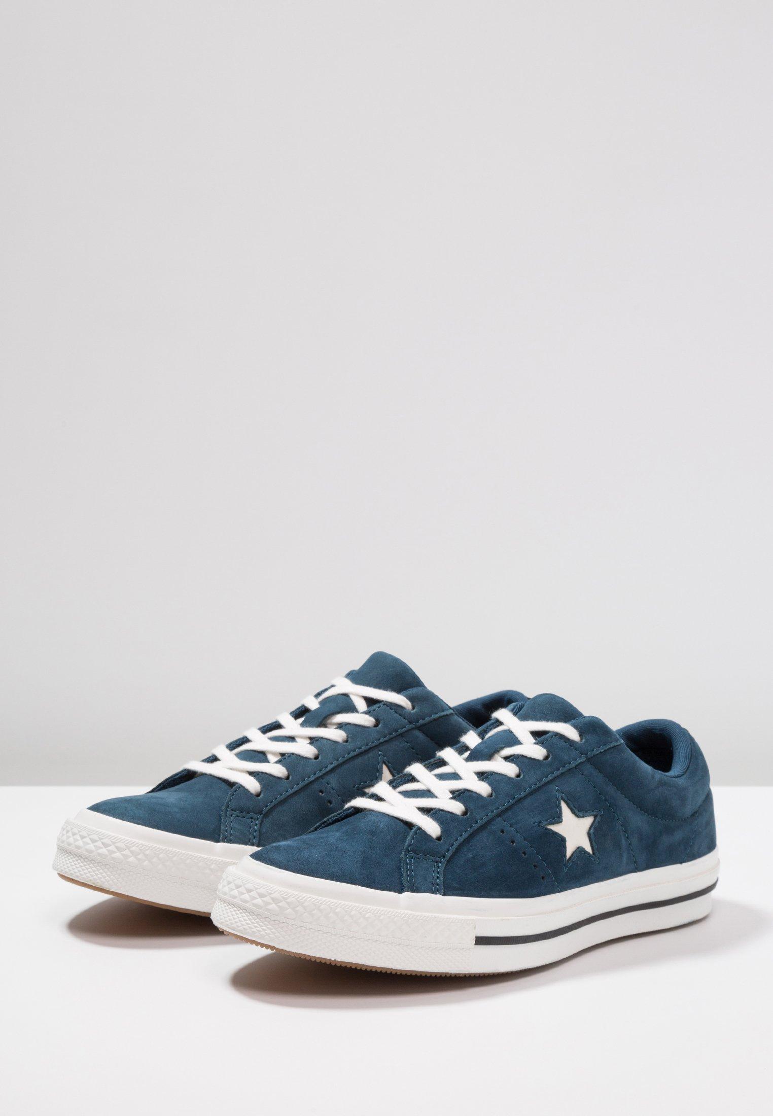 Blue Fir One White black Converse Basses vintage StarBaskets eW2IYEDH9b