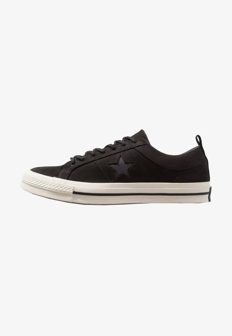 Converse - ONE STAR - Trainers - black/almost black