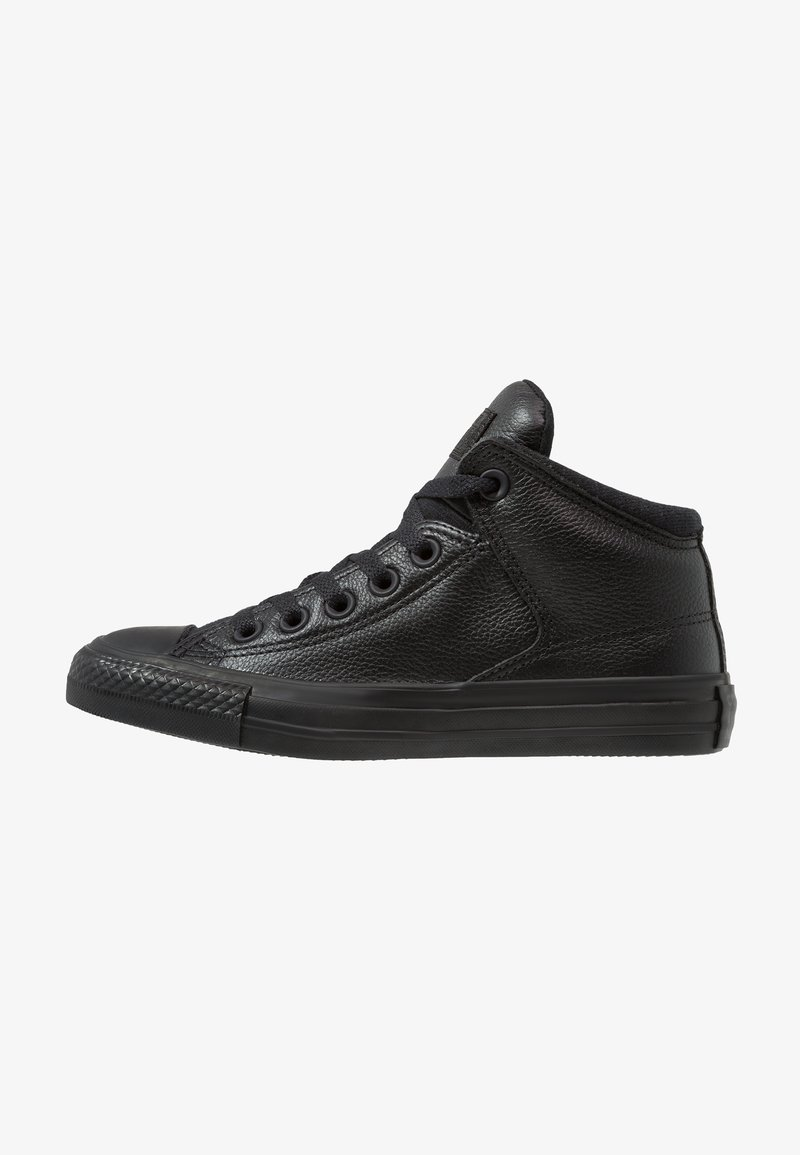 Converse - CHUCK TAYLOR ALL STAR STREET - Korkeavartiset tennarit - black