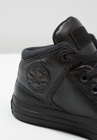 Converse - CHUCK TAYLOR ALL STAR STREET - Korkeavartiset tennarit - black - 5