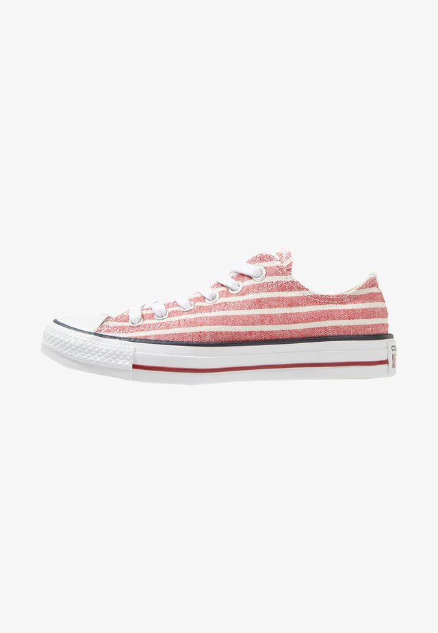 CHUCK TAYLOR ALL STAR OX - Sneaker low - gym red/egret/white