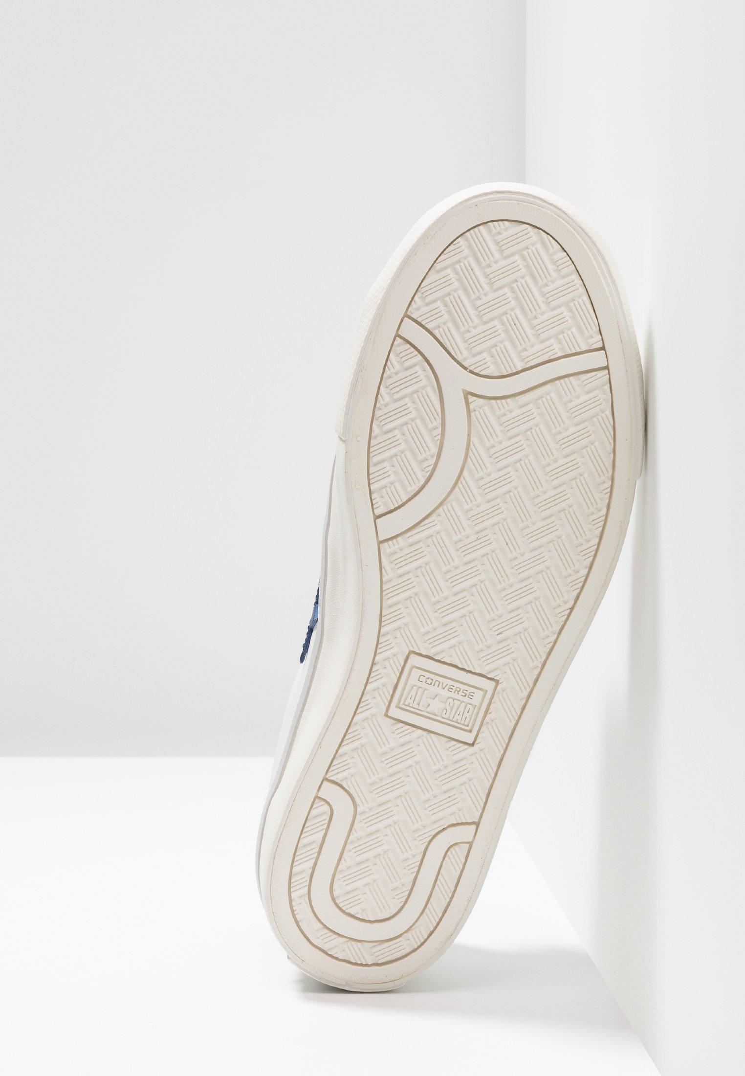 White garnet navy LeatherBaskets Basses Vintage Pro Converse TPXiukZO