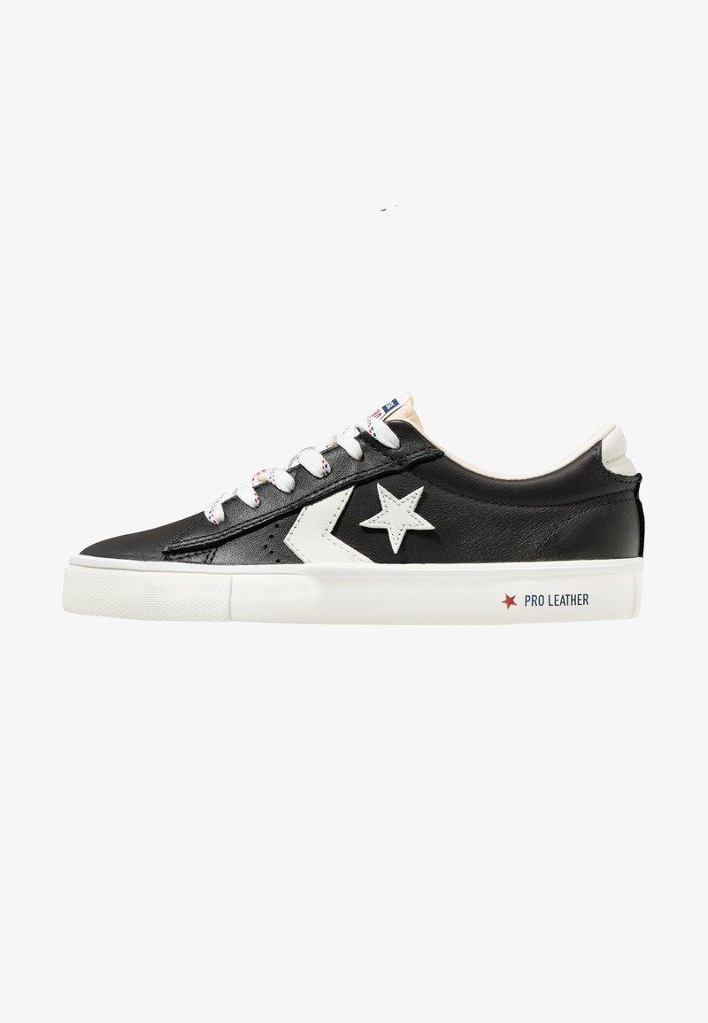 Converse - PRO LEATHER - Sneakers basse - black/vintage white/egret