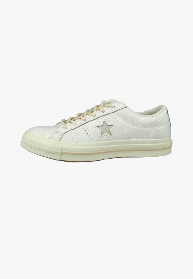 CHUCKS ONE STAR EGRET  - Zapatillas - beige