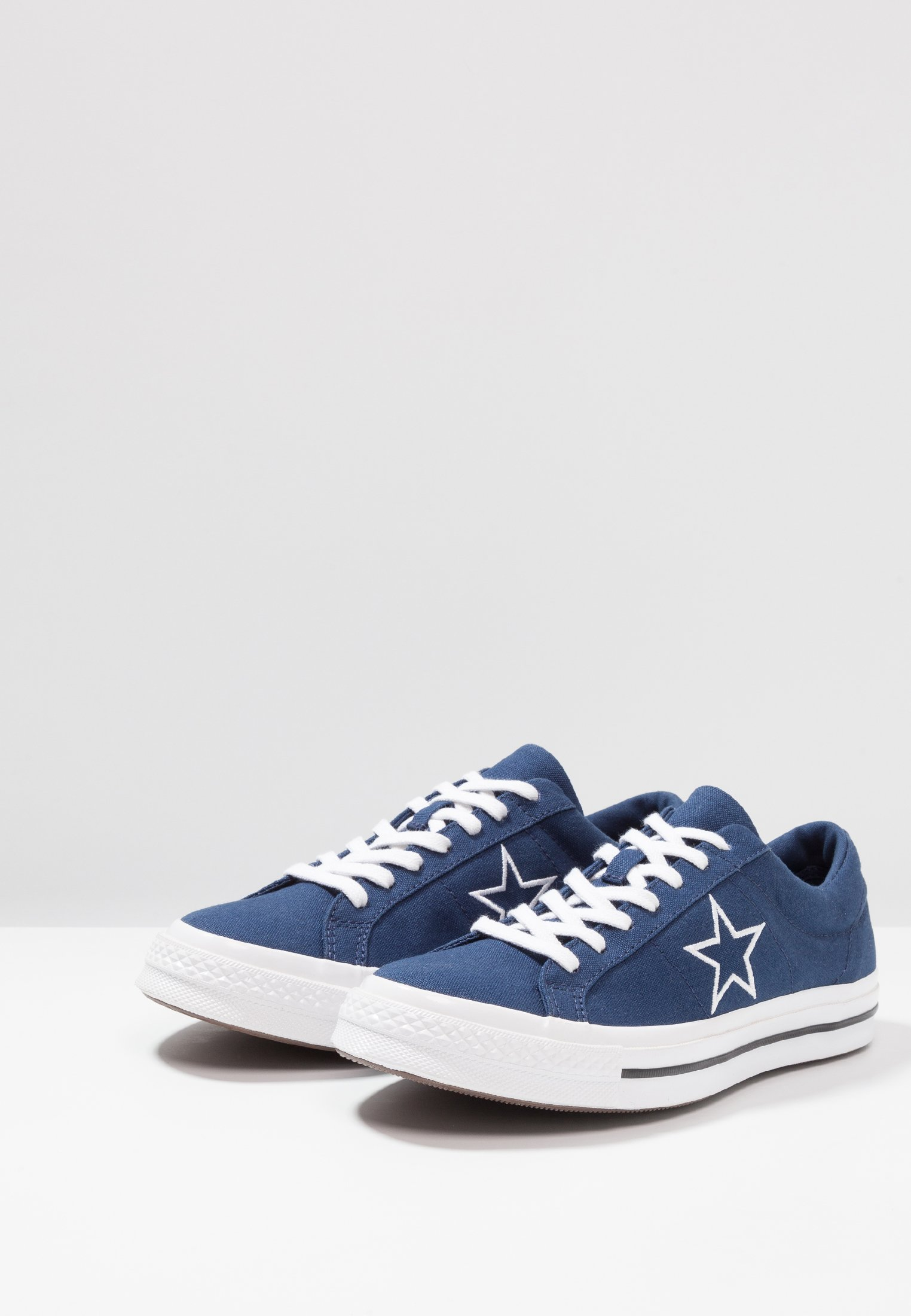 Converse ONE STAR - Baskets basses navy/white