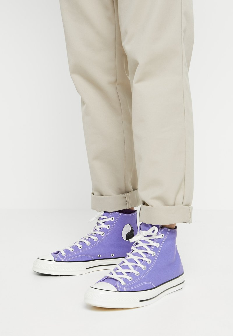 Converse - CHUCK TAYLOR ALL STAR 70 HI - Baskets montantes - wild lilac/black/egret