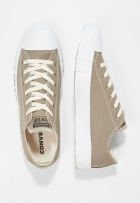 Converse - CHUCK TAYLOR ALL STAR RENEW - Sneakers laag - mason taupe/black/white - 3