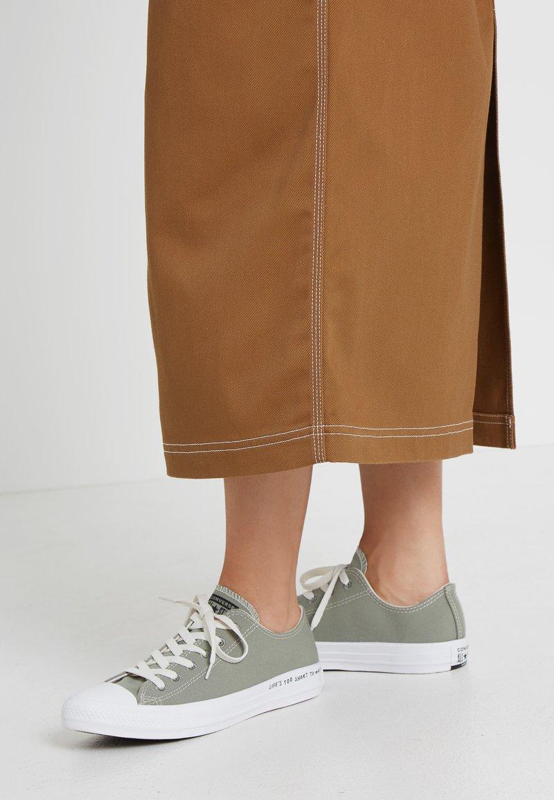 Converse - CHUCK TAYLOR ALL STAR RENEW - Sneaker low - jade stone/black/white