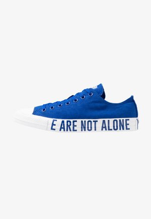 CHUCK TAYLOR ALL STAR WE ARE NOT ALONE - Baskets basses - blue/black