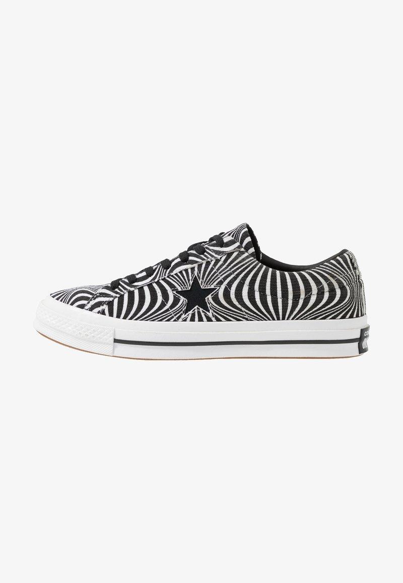 Converse - ONE STAR MOONSHOT - Baskets basses - black/white