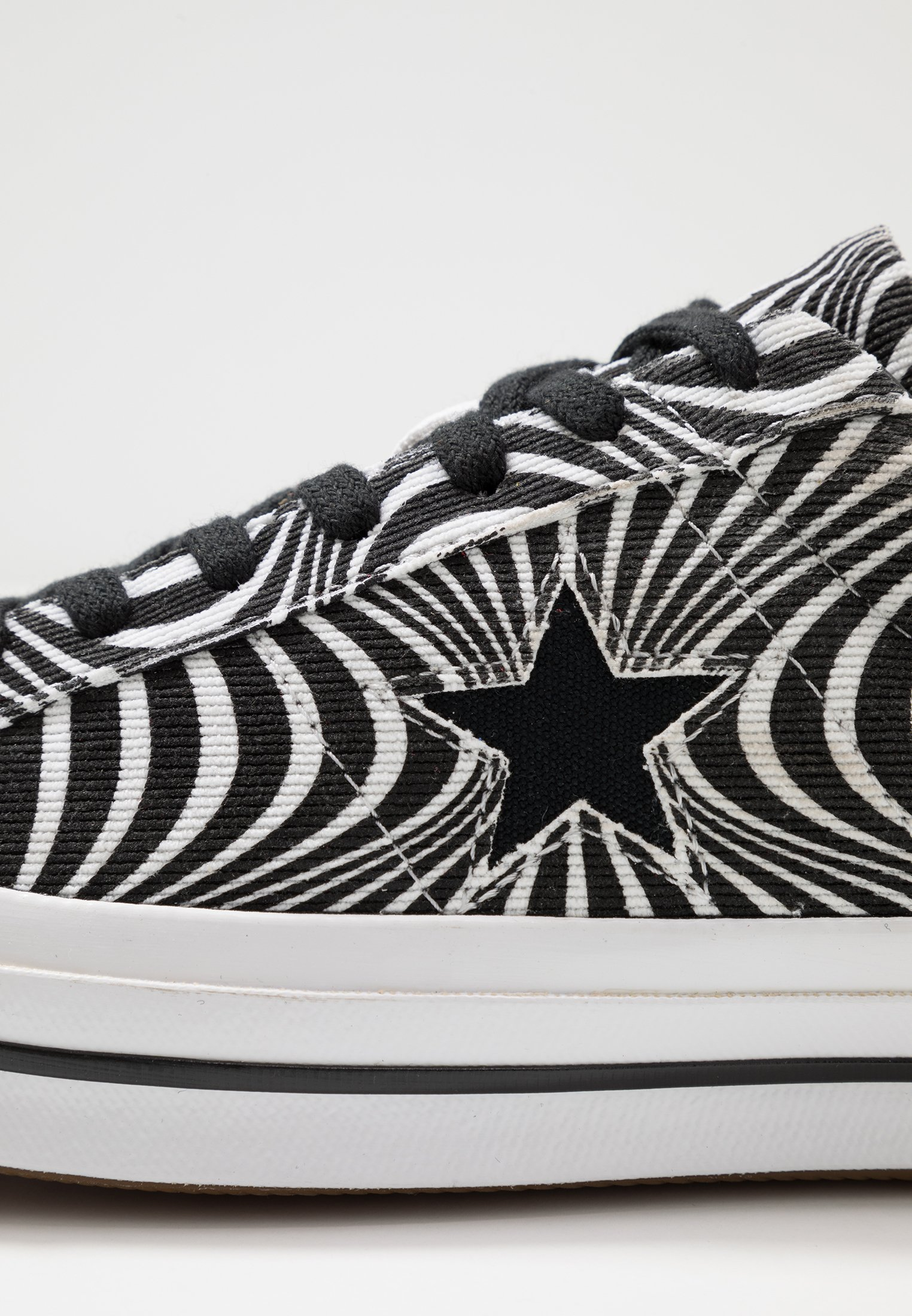 Converse ONE STAR MOONSHOT - Baskets basses black/white