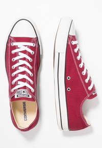 Converse - CHUCK TAYLOR ALL STAR OX - Sneaker low - maroon - 1