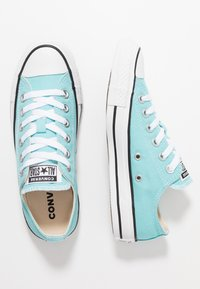 Converse - CHUCK TAILOR ALL STAR - Tenisky - bleached aqua/white/black - 1