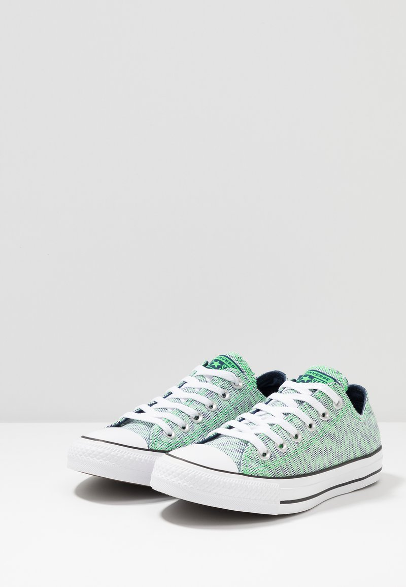 OxBaskets Chuck acid Converse Tailor Star white Basses Green Navy All CoWxeBrd