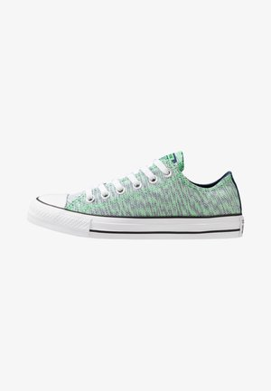 CHUCK TAILOR ALL STAR OX - Trainers - navy/acid green/white