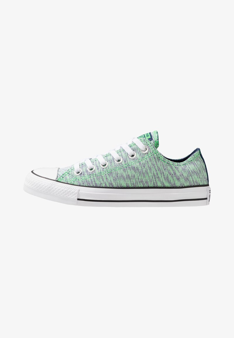 Converse - CHUCK TAILOR ALL STAR OX - Sneaker low - navy/acid green/white