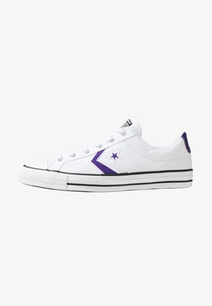 STAR PLAYER OX - Trainers - white/court purple