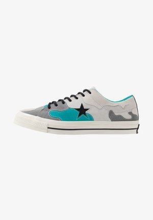 ONE STAR CAMO - Sneakers basse - vintage white/turbo green/mason