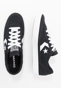 Converse - NET STAR - Sneakersy niskie - black/white - 1