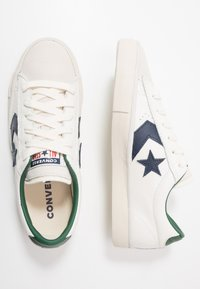 Converse - PRO LEATHER - Sneakers basse - white/obsidian/driftwood - 1