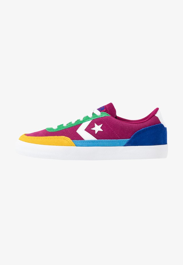 NET STAR CLASSIC  - Sneakers laag - rose maroon/ amarillo/rush blue