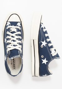 Converse - CHUCK TAYLOR ALL STAR - Trainers - navy/white/egret - 1