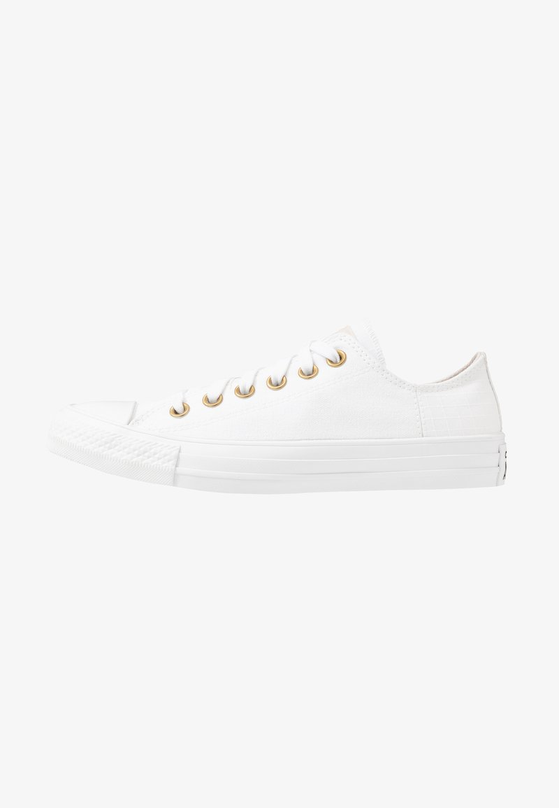 Converse - CHUCK TAYLOR ALL STAR - Sneakersy niskie - white/pale putty