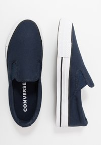 Converse - CLASSIC CHUCK - Slip-ons - obsidian/white/black - 1