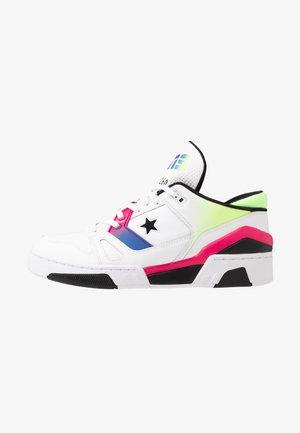 ERX - Sneakers hoog - white/cerise pink/black