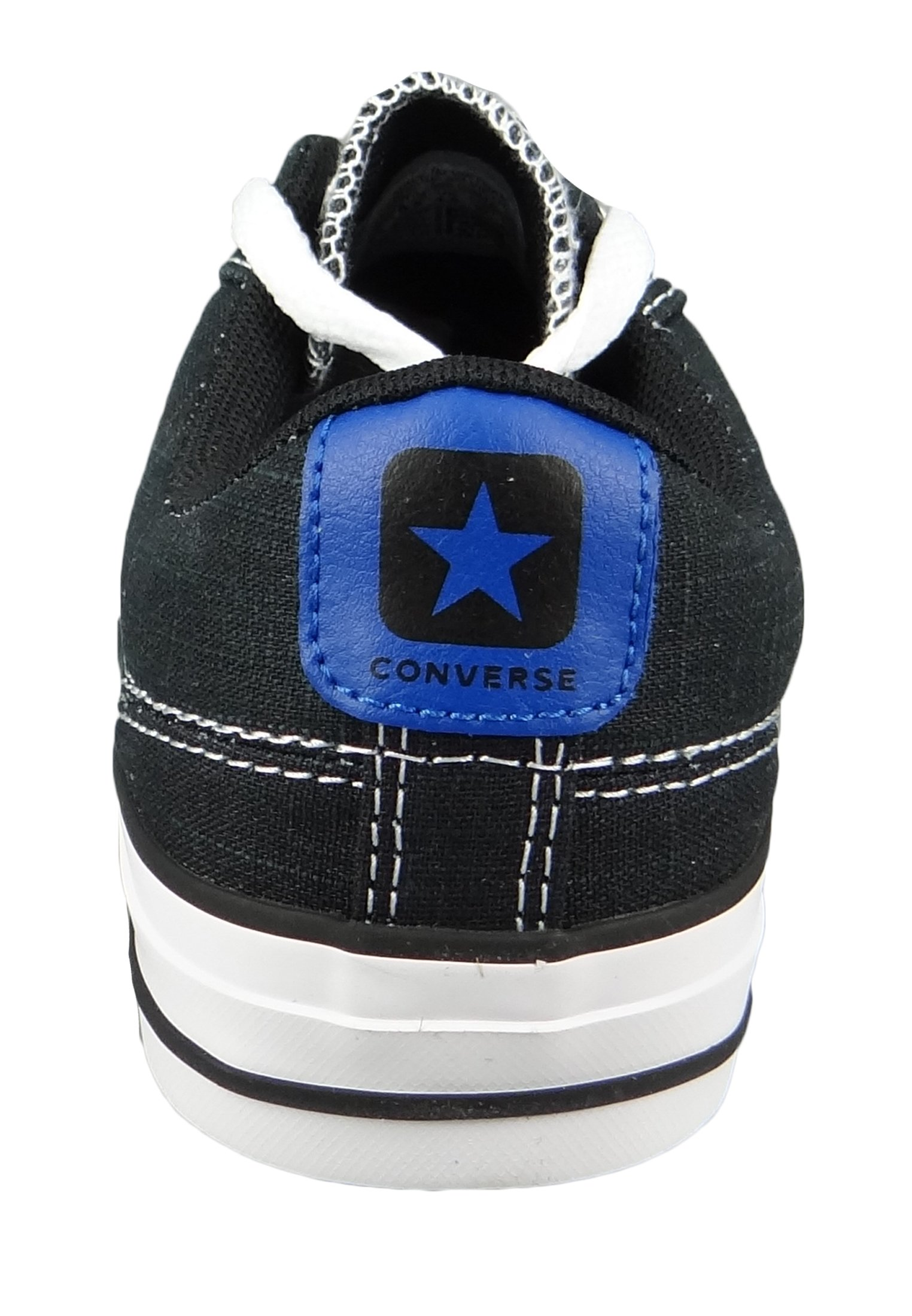 Converse Sneaker low - black game royal white