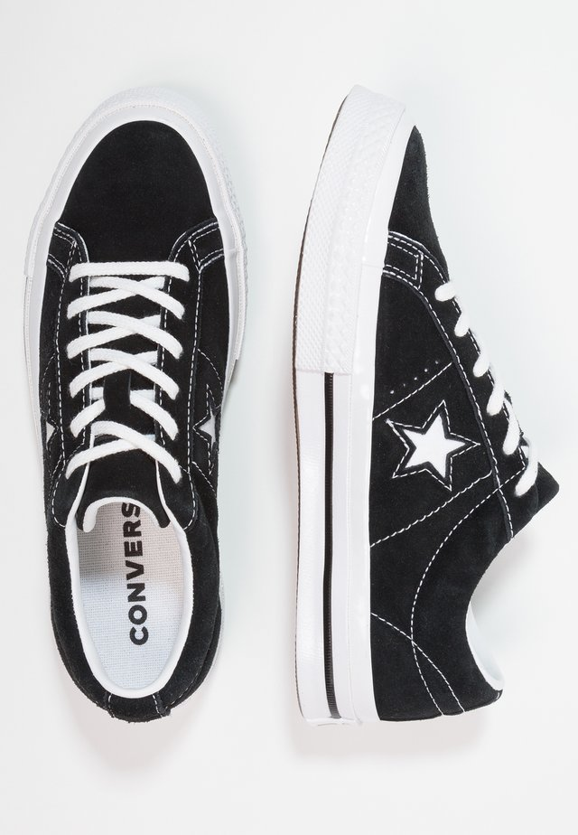 ONE STAR - Sneakers laag - black/white