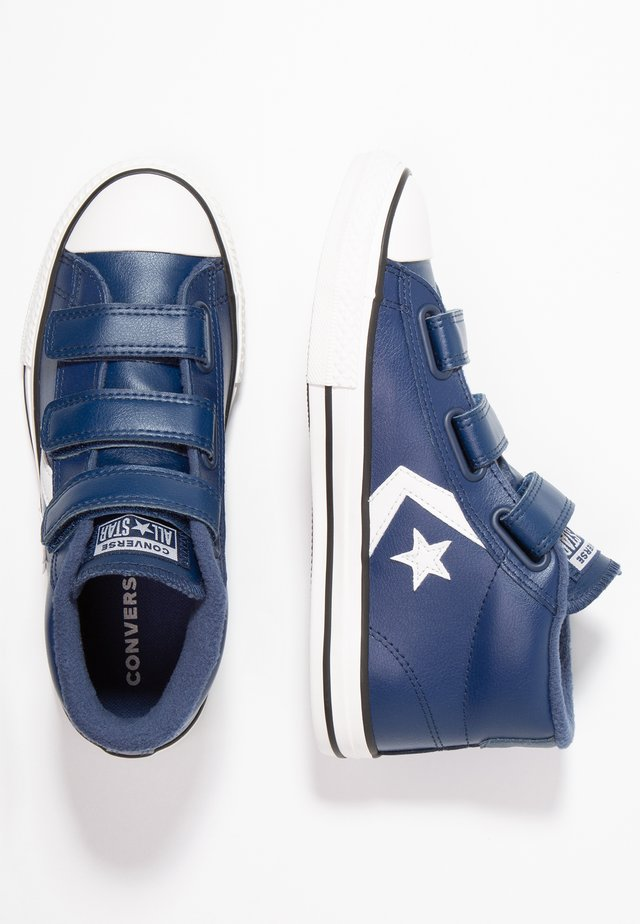 STAR PLAYER - Korkeavartiset tennarit - navy/mason blue/vintage white