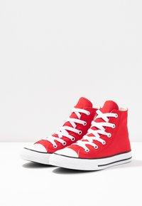 Converse - CHUCK TAYLOR ALL STAR OVERSIZED LOGO - Vysoké tenisky - enamel red/white/black - 3