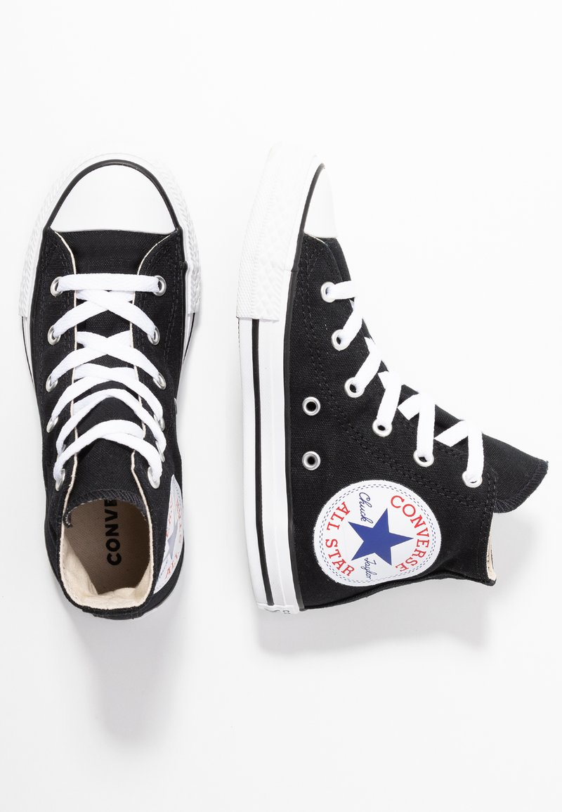 Converse - CHUCK TAYLOR ALL STAR OVERSIZED LOGO - Baskets montantes - black/white