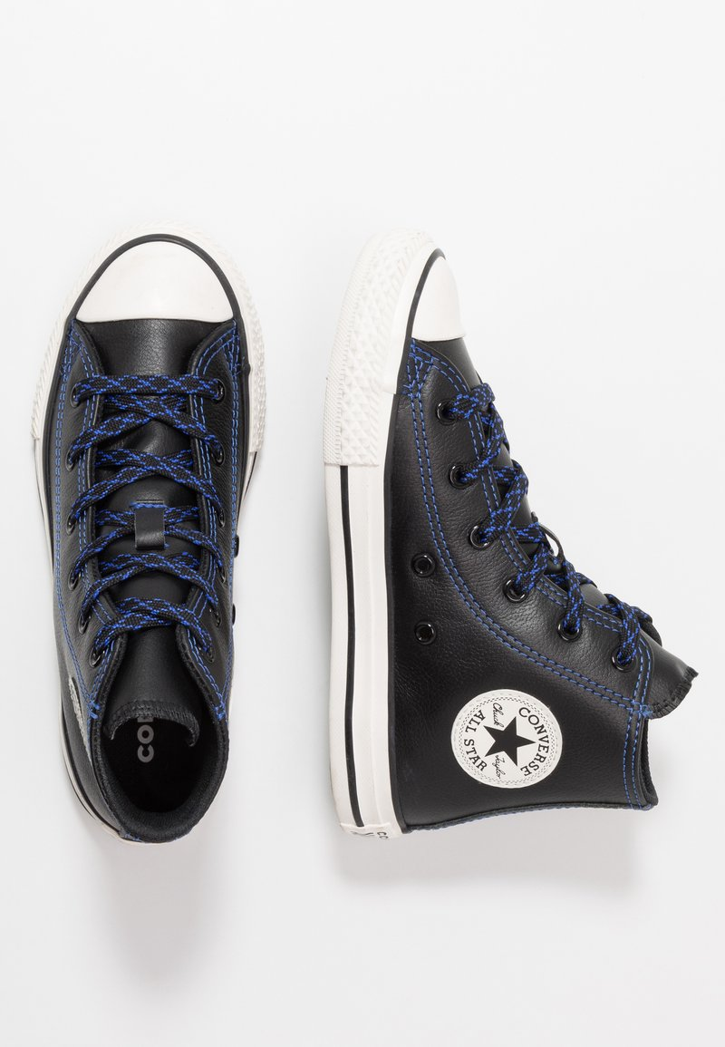 Converse - CHUCK TAYLOR ALL STAR TUMBLED - Høye joggesko - black/hyper royal/egret